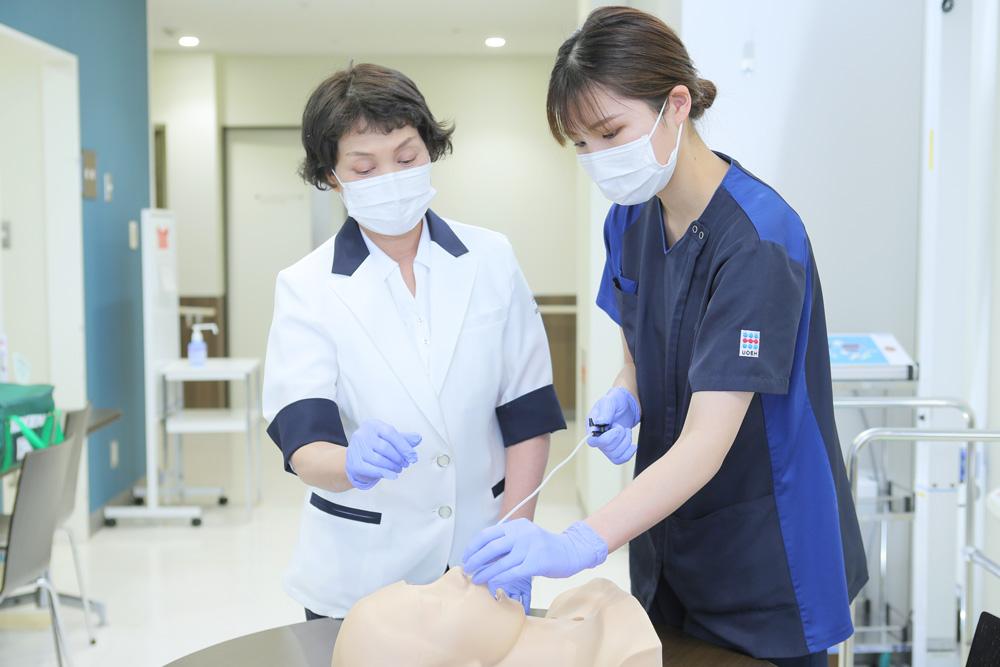 看護部の教育の特徴