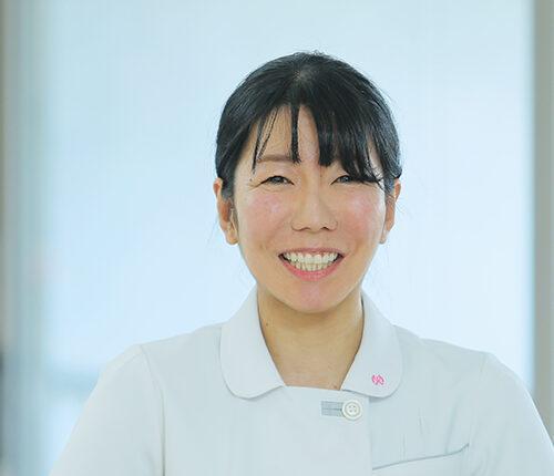 経験者採用の女性看護師:1名の笑顔